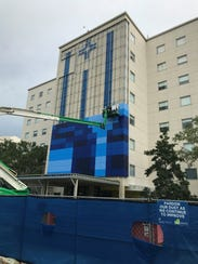 Tallahassee Memorial Hospital is putting a new mural