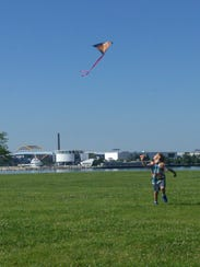 Kite-flying is another great activity to do during