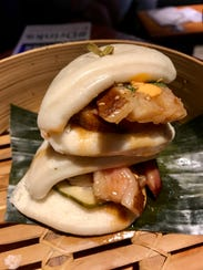 Pork belly steamed buns from Downtown Social House.