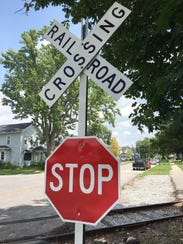 Yield signs were recently replaced by stop signs at