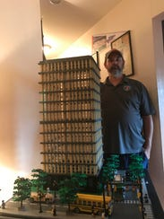 Chris Leach, founder of  Michigan LEGO Users Group,