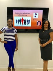 "Belinda Roberson and Marisa Roberson at a ""Becoming"