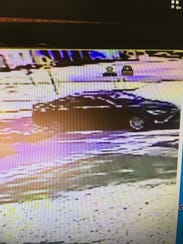 Surveillance photo of vehicle used by attempted armed