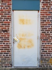 A door on a current barn on the site of the old Norwood