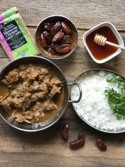 Moroccan Lamb Curry made with spice blends from Karen's