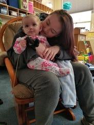 Vanessa Fitzgerald with her daughter Karoline.