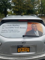 Rob Barley will be the first African-American to sit on the Henrietta Town Board.