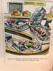 Cartoon prints from Doug MacGregor, at the Center for
