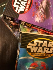 """A collection of """"New Jedi Order"""" books."""