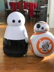 The robotic home companion Kuri.