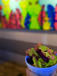 Dehydrated Vegetable Chips to be served at Wildest