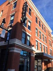 The Hotel V is at 305 E. Walnut St.