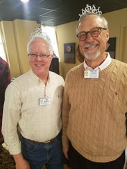 Jim McNiece and Bruce Lampert await the starring roles