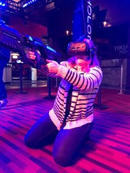 Andy B's is bringing the first virtual reality gaming