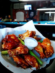 Doc's is well known for big meaty wings with a choice