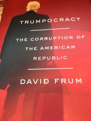 "Cover of ""Trumpocracy: The Corruption of the American"