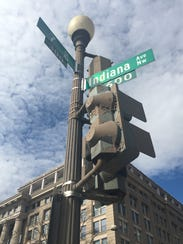 Indiana Avenue is one of the streets that borders Indiana