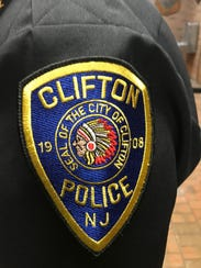 Clifton police patch