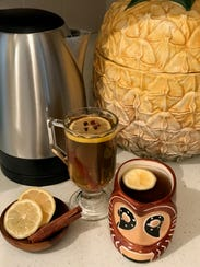 These hot toddy recipes include citrus, hot water and