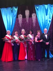 Contestants in the 2018 Ms. Senior Mesquite Pageant