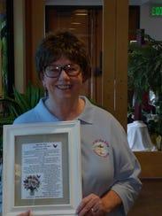 Donna Dischbein of Cedar City has been an active presence