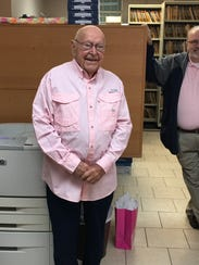 Ralph Carlton, former Taylor County clerk, has retired