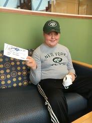 Raymond Schwartz, a 14-year-old with a brain tumor,