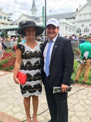 Sean Tugel and wife, Mara, living the dream at the