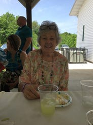 Ivonne Carnes, 79, first came to Elm Grove Church as