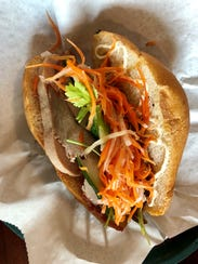 The banh mi from Lan Xang in Fort Myers.