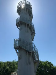 The Cordova Observation Tower at Cordova Park on June
