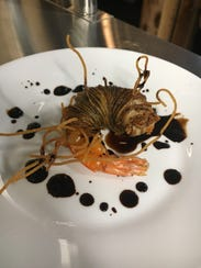 Voo-Doo Shrimp from Silver Spoon is Cajun marinated