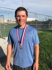 Justin Sehlin, All-Iowa