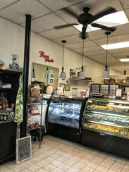 The interior of Aunt Mia's Gourmet Cookie and Gift
