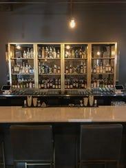 The bar at M.O.B. Social Club in downtown Phoenix.