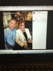 Lobbyist Steve Dimon is pictured in a Facebook post
