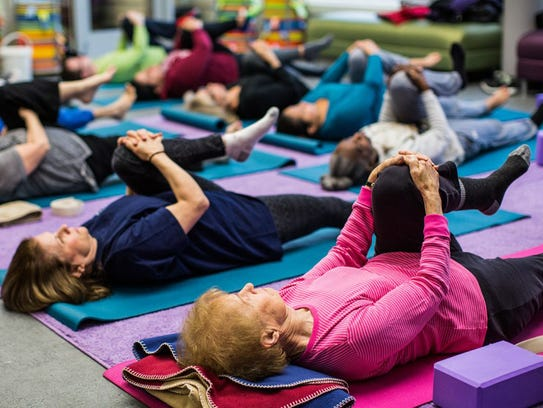 At age 89, Dean Stevens credits weekly yoga classes