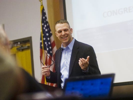 U.S. Rep. Scott Perry, R-York County, has introduced legislation that would allow soldiers on bases to carry handguns.