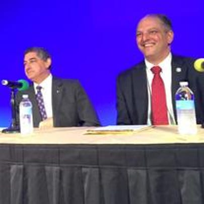 Last year's gubernatorial forum at the Farm Bureau
