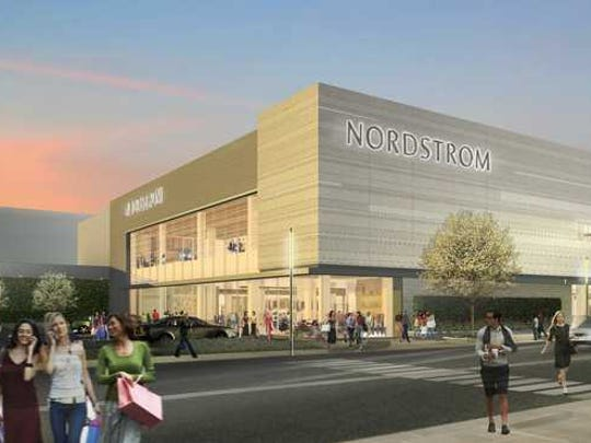A Nordstrom store.