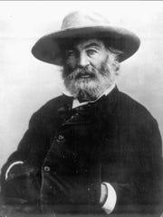 An undated photo of Walt Whitman.