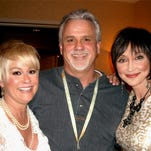 Left, to right, Lorrie Morgan, Marty Morgan and Pam Tillis,