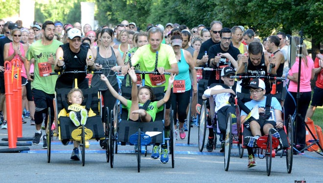 Fusion Inclusion takes off at the Nemours 5K.