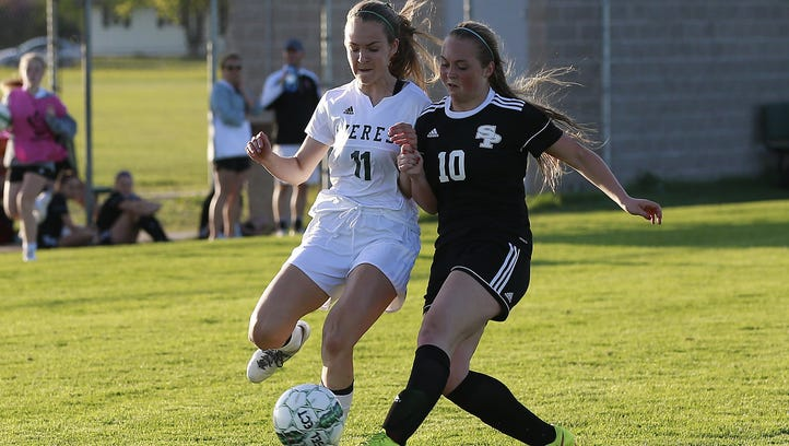 Prep girls soccer: SPASH blanks Everest to take control of Wisconsin Valley race