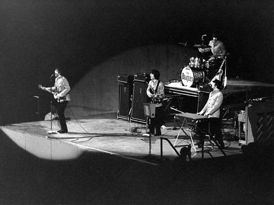 The Beatles played two shows on Aug. 22, 1965, at Memorial Coliseum in Portland.
