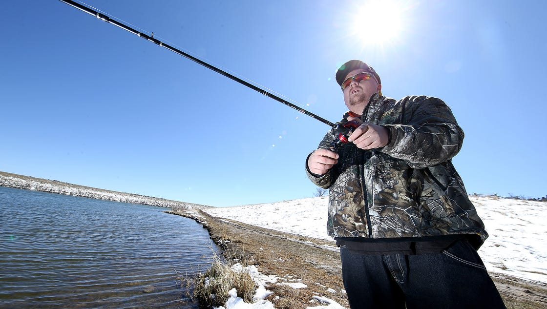 Colorado anglers catch a northern pike get 20 for Pike fishing colorado