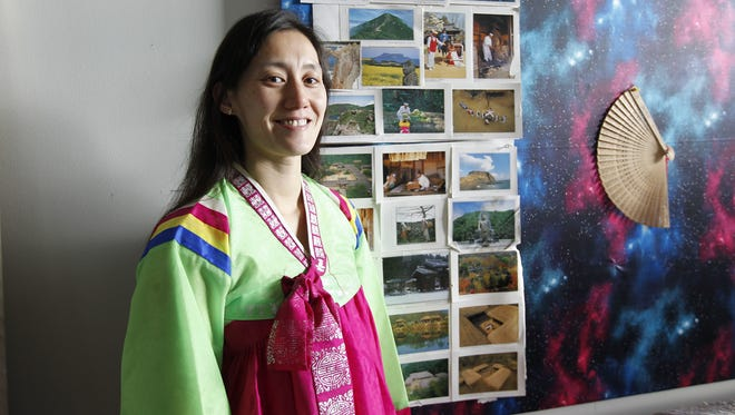 Brooke Thiele is creating an art installation of Korean Hanbok traditional dresses. She is one of two Nohl fellowship recipients exploring their own transracial adoption.