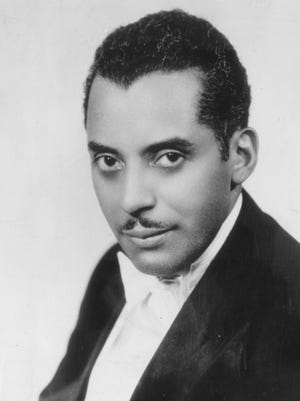 Indianapolis' Noble Sissle was one of the nation's top big band leaders in the 1920s and 1930s.