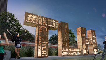 New 'TLH' art structure to be built along Capital Cascades Trail