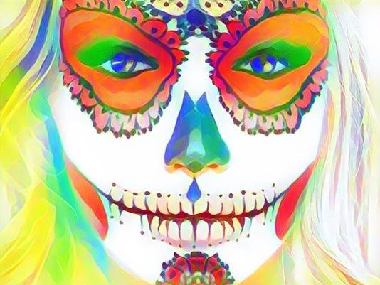 Perfect 365 Skeletal + PicsArt Flare filter